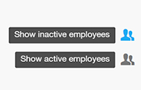 Active or inactive employee
