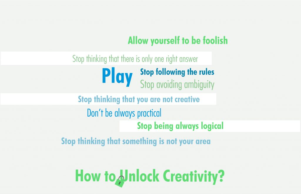 how to unlock creativity