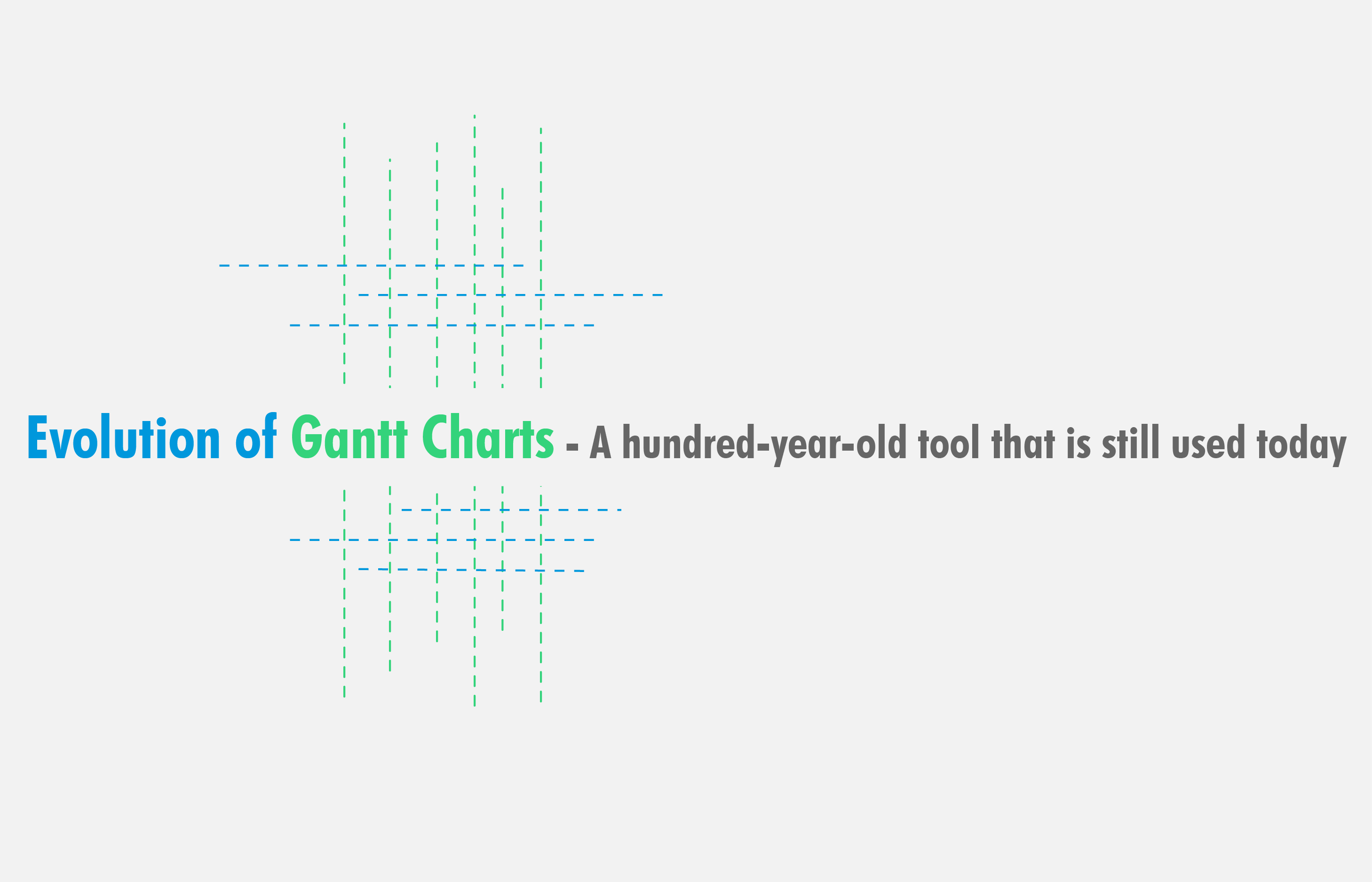 Evolution of gantt charts